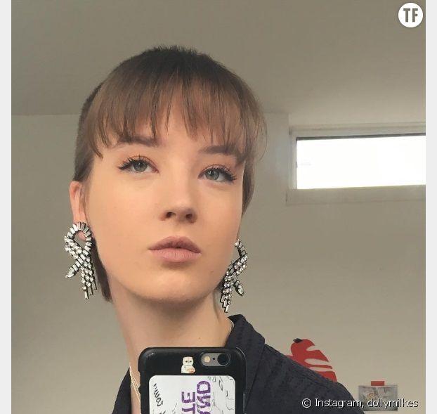 Les boucles d'oreilles de la modeuse Molly Dilkes