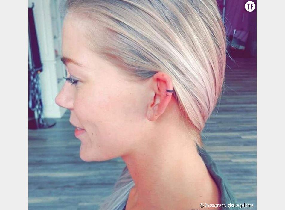 Helix tattoo : la tendance tatouage d'oreille qui fait le buzz sur Instagram