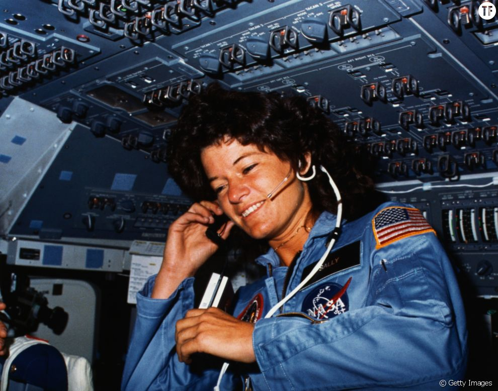 L'astronaute américaine Sally Ride