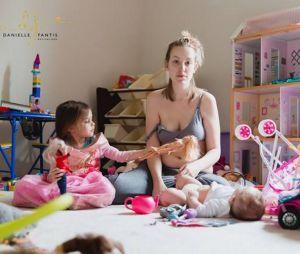 Ces photos bouleversantes vont parler à toutes les mamans en dépression post-partum
