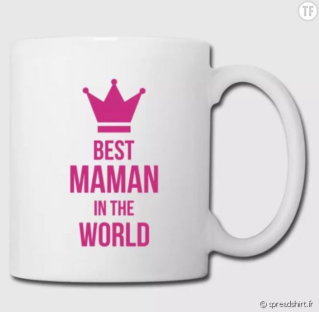 "Mug ""Best maman in the world"""
