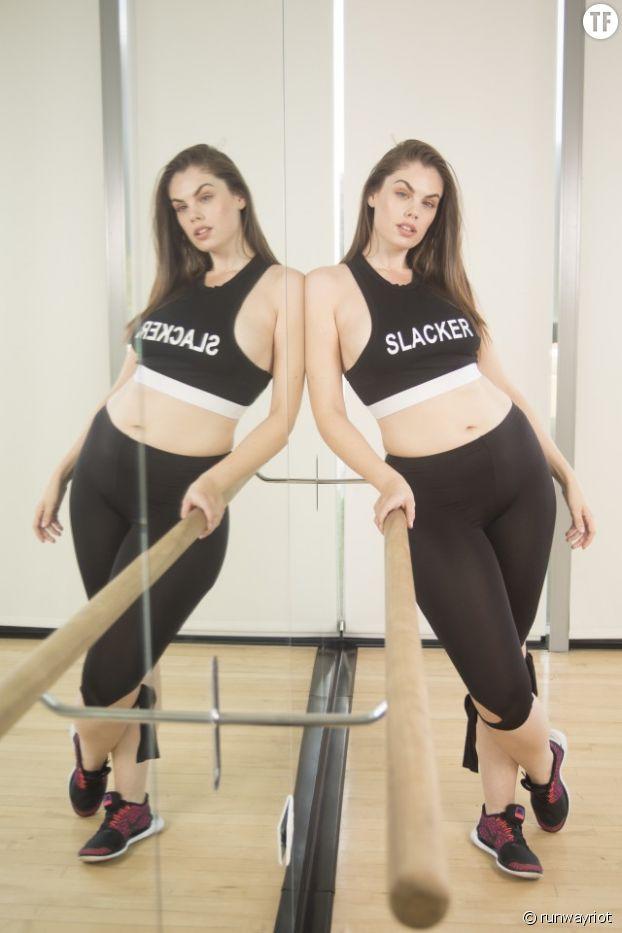 Le mannequin Chloe Marshall