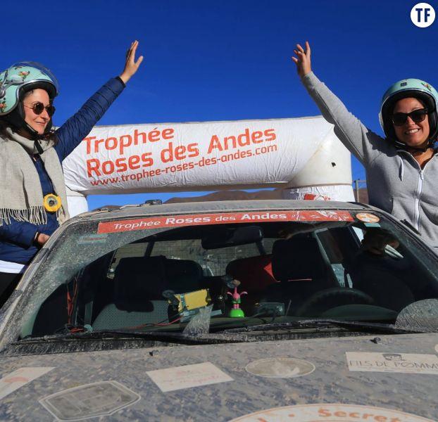 Marie et Julie, participantes du trophée Roses des Andes 2017