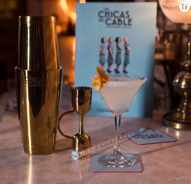 Le cocktail White Lady fait au Dry Bar de Madrid