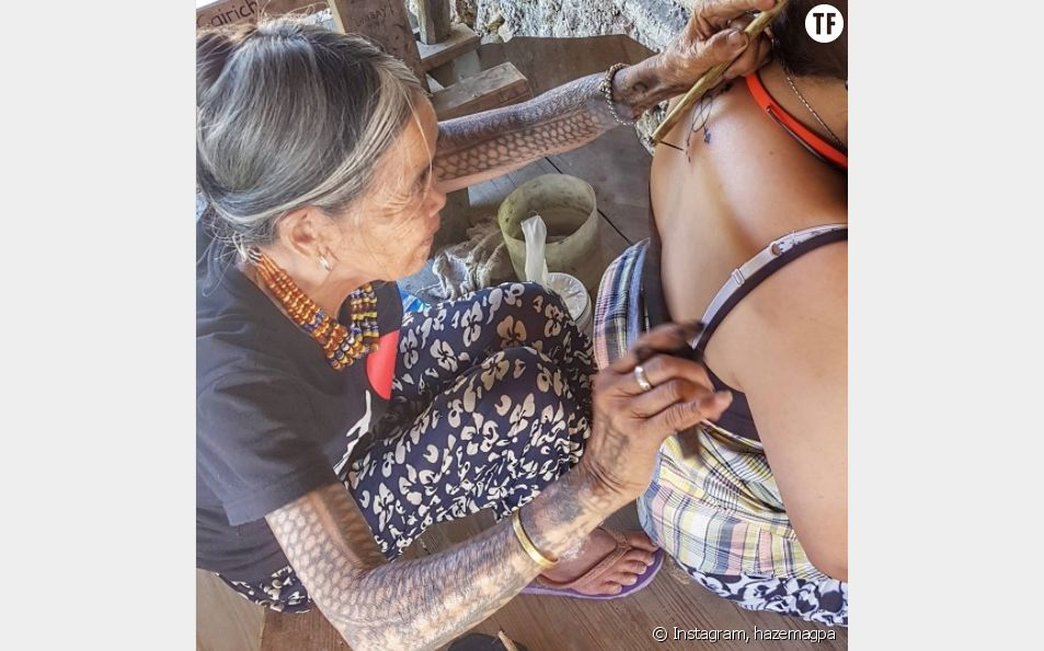 Cette Philippine de 100 ans est une reine du tatouage