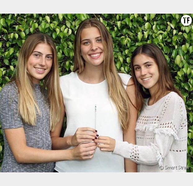 Trois lycéennes inventent une paille détectant la drogue du viol — Etats-Unis