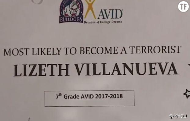 """Quand une école remet un diplôme de """"terroriste en devenir"""" à une ado"""