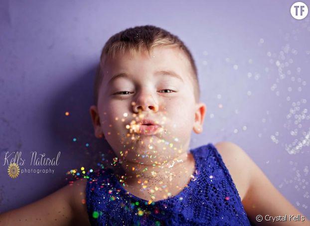 """""""Mon fils est la lumière de ma vie"""", a déclaré Crystal Kells"""