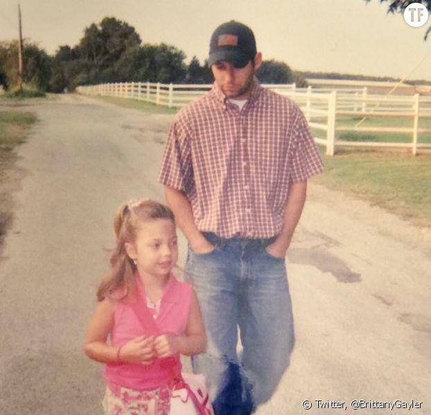 Brittany Gayler a posté des clichés d'elle et son père qui ont fait le buzz