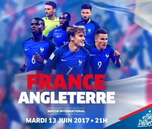 Match France-Angleterre le 13 juin 2017