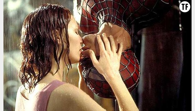 "Le baiser ""Spiderman"""
