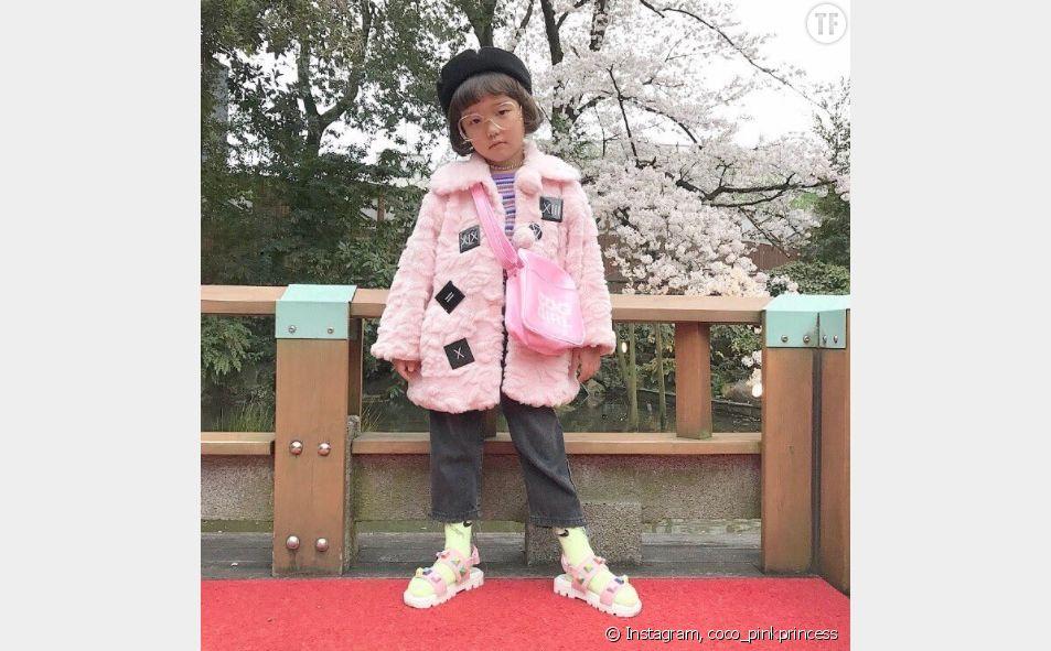A 6 ans, Coco est la nouvelle it-girl qui affole le monde de la monde