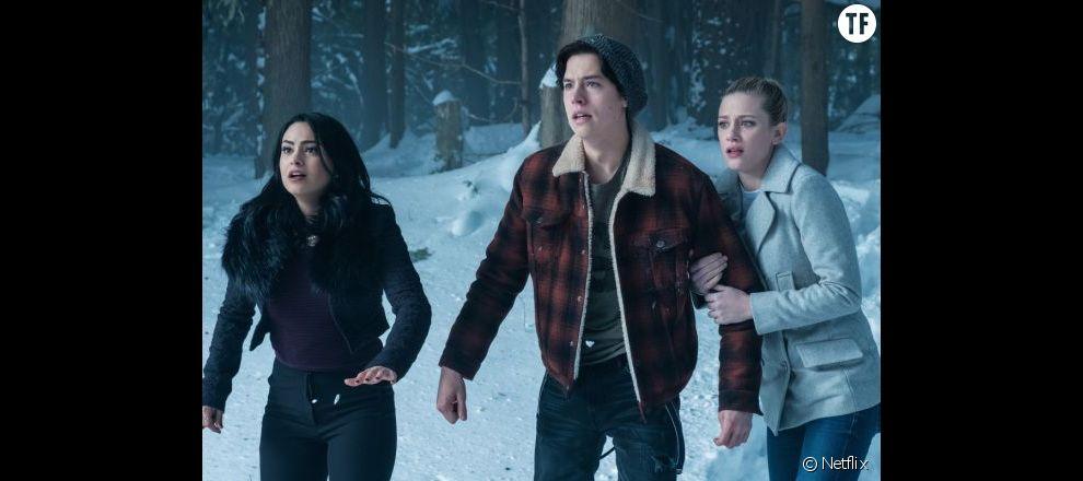 Veronica, Jughead et Betty dans Riverdale