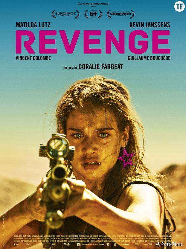"""L'affiche de """"Revenge"""" de Coralie Fargeat"""