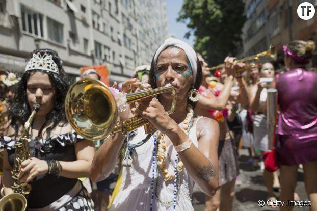 La fanfare des Mulheres Rodadas en 2016