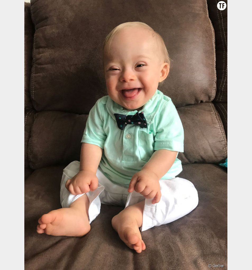 Lucas Warren, bébé atteint de trisomie 21, porte-parole de Gerber