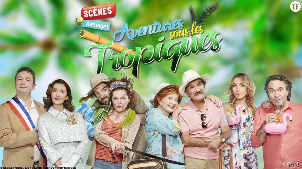 """Retrouvez  Huguette et Raymond dans """"Scènes de Ménages sous les tropiques"""""""