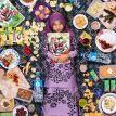 Il a photographié ce que mangent les enfants à travers le monde