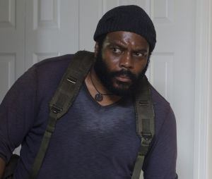 "Tyreese, dans la série ""The Walking Dead"""