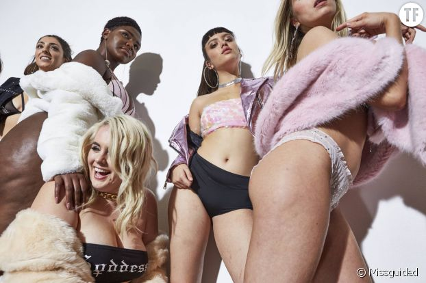 La campagne de pub Make Your Mark de Missguided