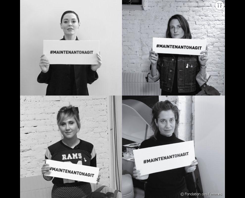 #MaintenantOnAgit : l'appel de la Fondation des Femmes contre les violences sexuelles