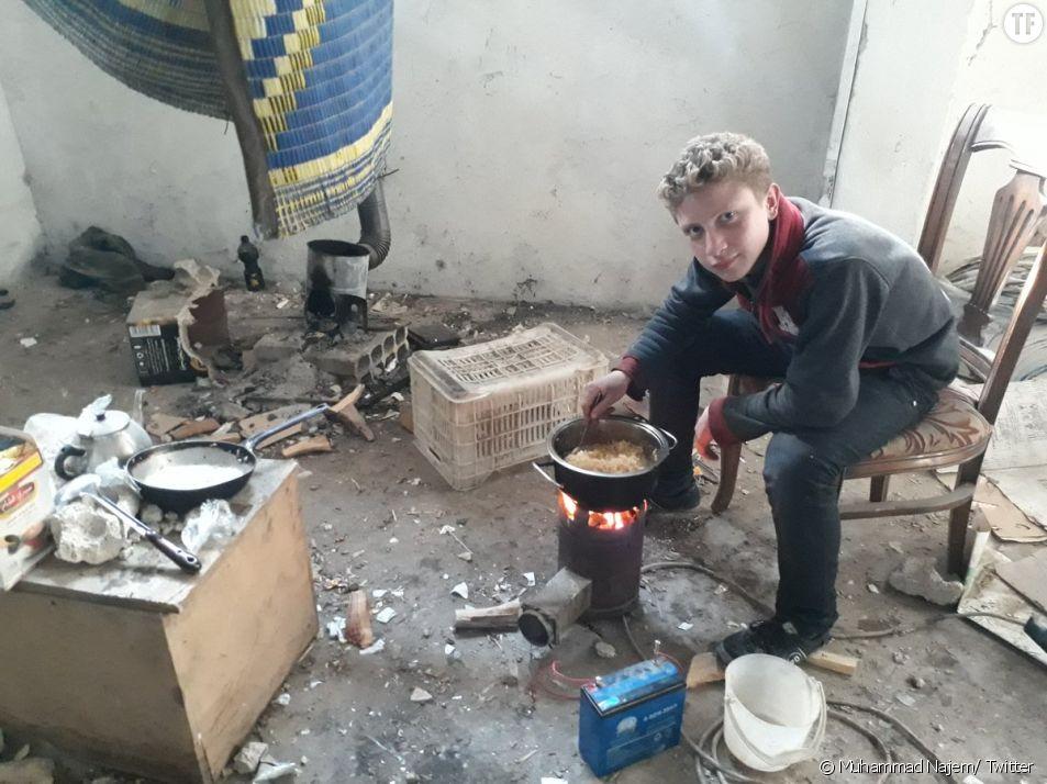 Syrie : cet ado filme les rues de la Ghouta orientale pour interpeller sur l'horreur de la guerre