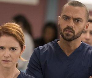 """April et Jackson dans la saison 14 de """"Grey's Anatomy"""""""