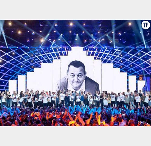 Le groupe Canal rétablit TF1 le soir du show — Les Enfoirés