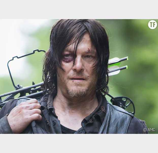 "Daryl dans la saison 8 de ""The Walking Dead"""