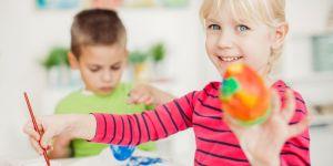 5 jolies décorations de Pâques à faire avec des enfants