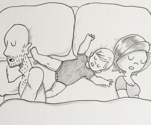 Cette BD tendre et drôle croque le quotidien d'un couple avec enfant