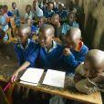 Elèves dans une école de Tsavo National Park au Kenya