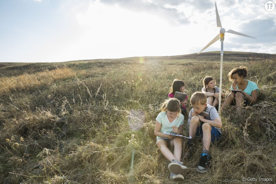 5 astuces pour élever des enfants écolo