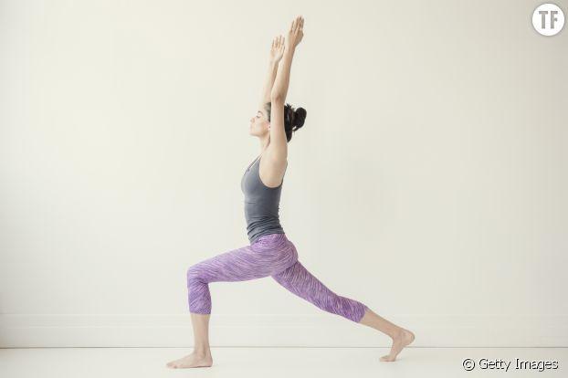 Posture du guerrier - Yoga