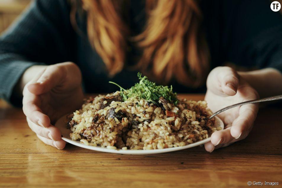 Assiette de riz