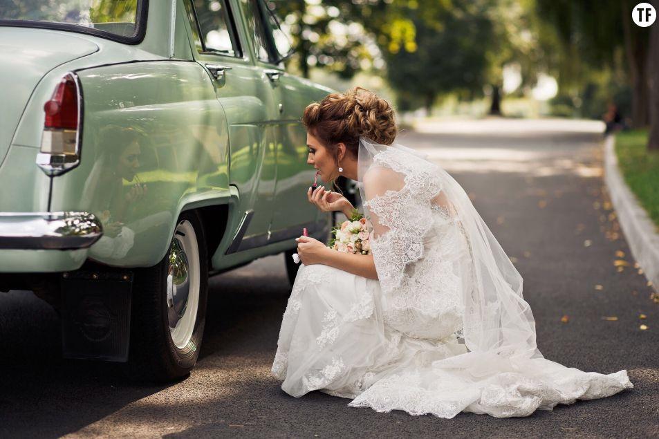 Se maquiller pour son mariage