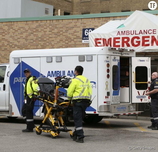 Services d'urgences de l'hôpital SunnyBrook de Toronto, mardi 24 avril