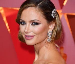 La créatrice de mode Georgina Chapman aux Oscars en 2017