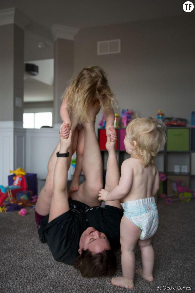 """""""La maternité, c'est devenir l' 'amuseur' professionnel de vos enfants"""""""
