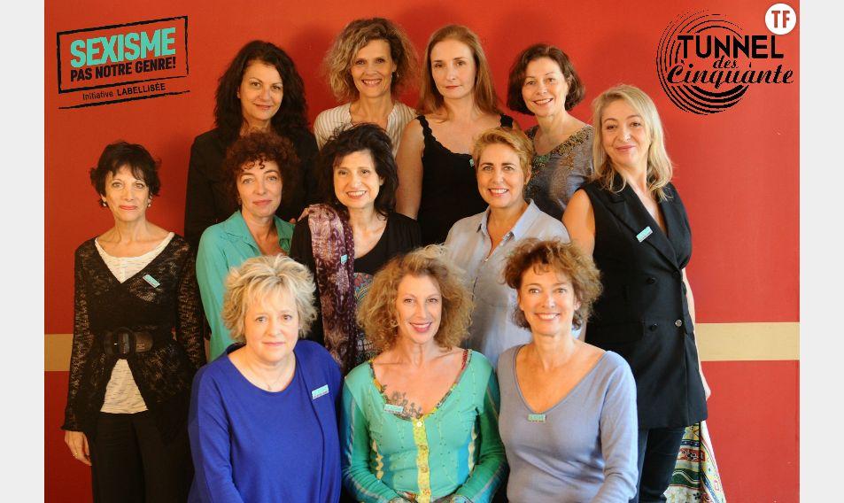 La commission du Tunnel de la comédienne de cinquante ans a été labelisée sexisme pas notre genre.