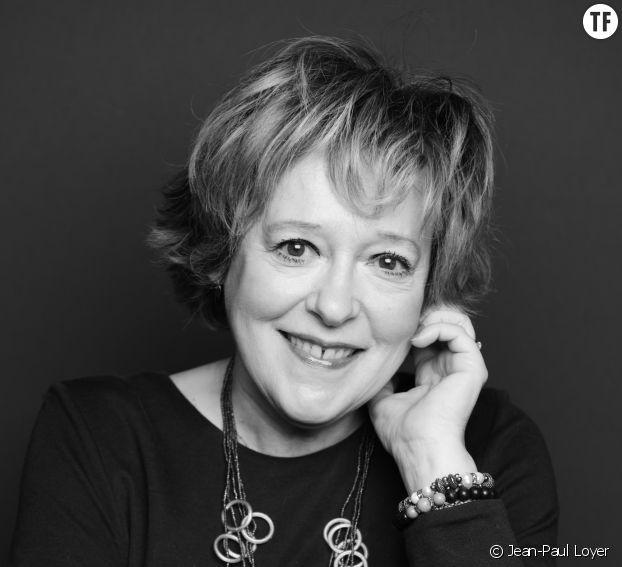 La comédienne Blandine Méteyer, membre de l'AAFA