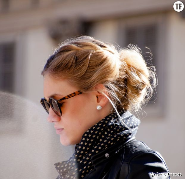 Chignon flou : 10 idées de chignons coiffés-décoiffés - Terrafemina