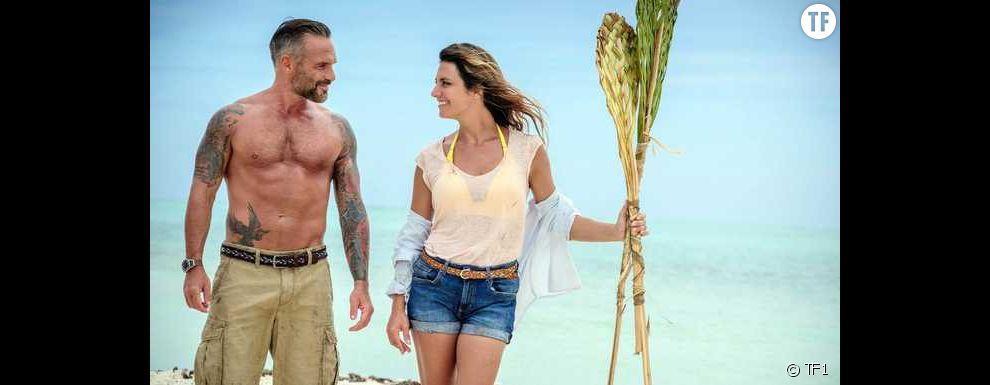 Philippe Bas et Laetitia Milot dans Coup de foudre à Bora Bora