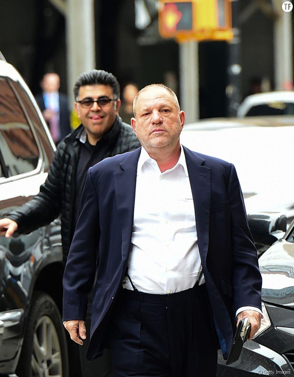 Harvey Weinstein en avril 2017
