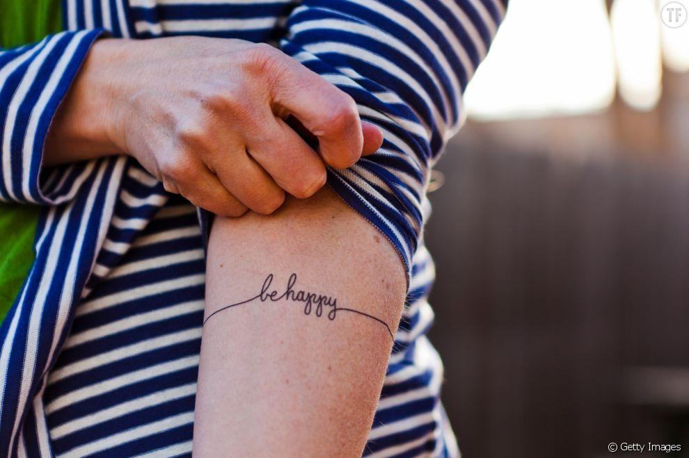Idées de tatouage : 15 phrases à se faire tatouer