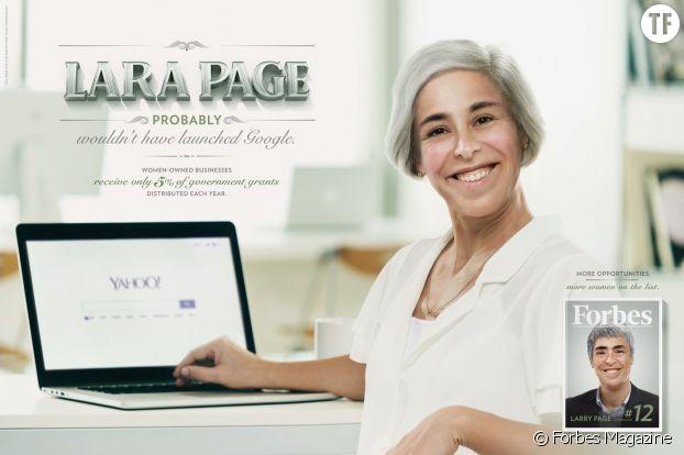 Égalité homme/femme au travail : campagne de Forbes Magazine avec l'agence Ogilvy Brazil