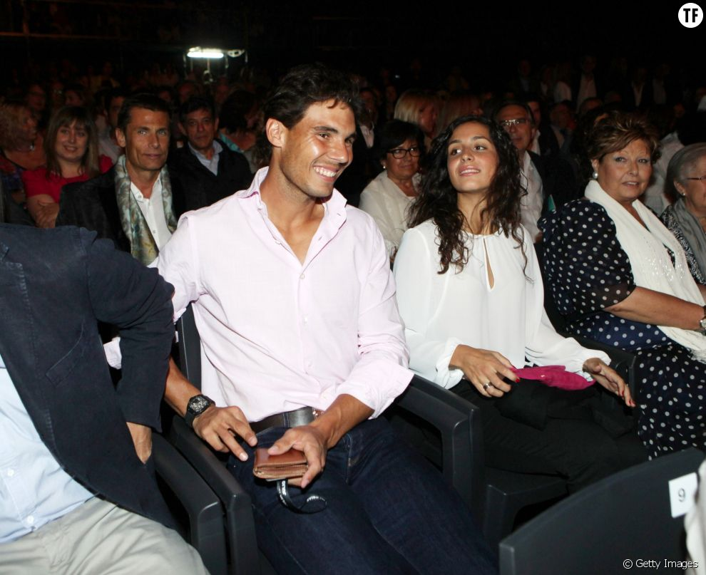 Rafael Nadal et sa compagne Xisca Perello en juin 2013
