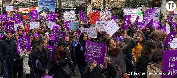 Marche du 24 novembre 2018, Paris, #NousToutes