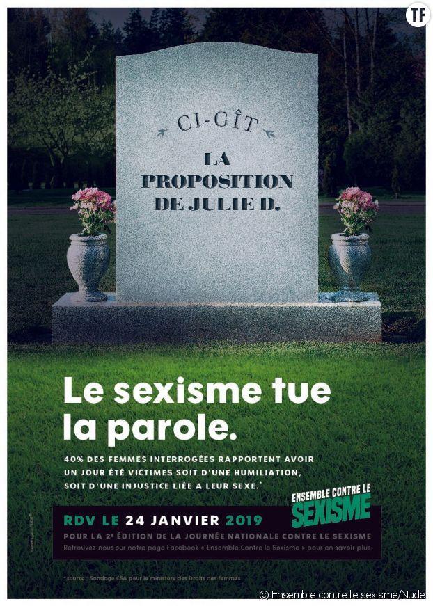 Campagne d'Ensemble contre le sexisme