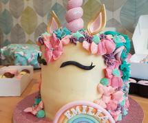 La recette féerique du gâteau licorne